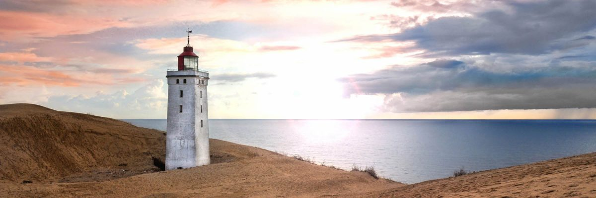 Canvas 50×150 lighthouse