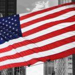 Canvas 50×100 us flag