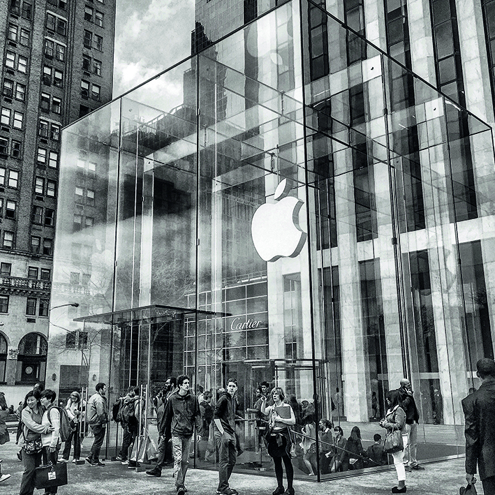 Canvas 0203 40×40 apple ny