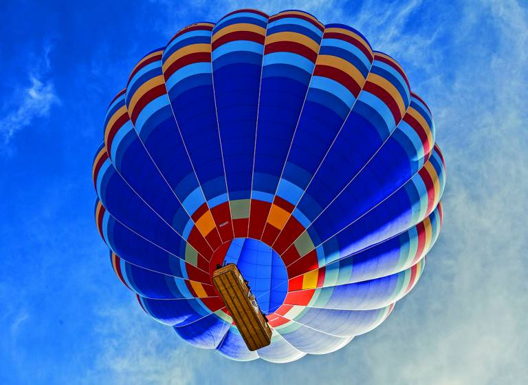 Canvas 0281 80×110 hot air balloon
